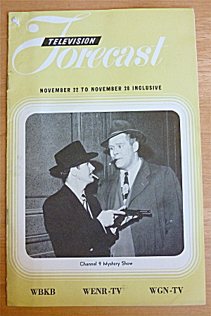 1948 Chicago Television Forecast Vol.1-#29 Mystery Show (Image1)