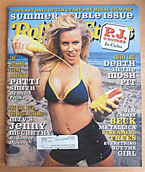 Rolling Stone Magazine July 11-25, 1996 Jenny McCarthy (Image1)
