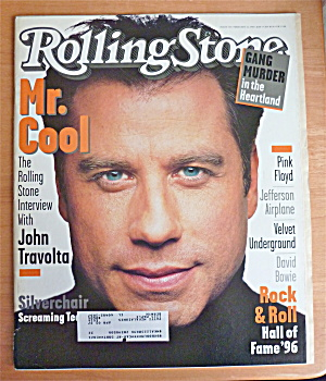 Rolling Stone Magazine February 22, 1996 John Travolta (Image1)