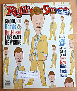 Rolling Stone Magazine March 24, 1994 Beavis/butthead