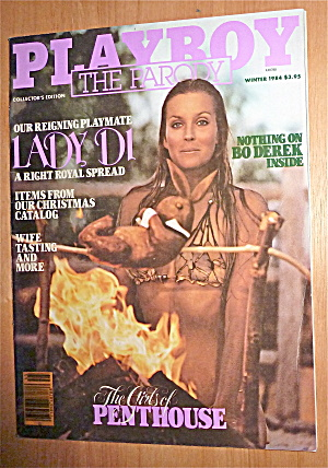 1984 Playboy Magazine (The Parody) Lady Di Centerfold