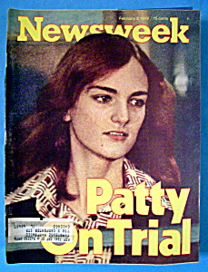 Newsweek Magazine - February 2, 1976 - Patty On Trial