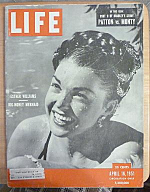 Life Magazine-April 16, 1951-Esther Williams  (Image1)