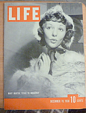 Life Magazine-December 19, 1938-Mary Martin  (Image1)