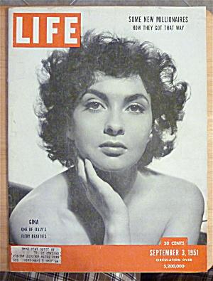 Life Magazine-September 3, 1951-Gina Lollobrigida (Image1)