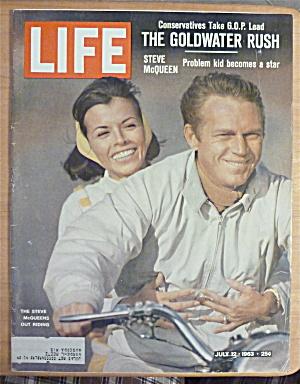 Life Magazine-July 12, 1963-Steve McQueen  (Image1)