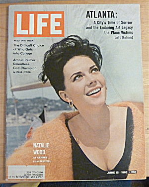 Life Magazine-june 15, 1962-natalie Wood
