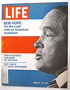 Life Magazine-january 29, 1971-bob Hope