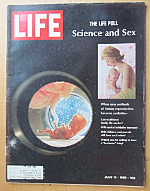 Life Magazine-June 13, 1969-Science & Sex  (Image1)