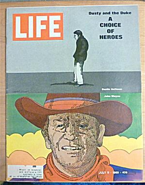 Life Magazine-July 11, 1969-Dustin Hoffman/John Wayne  (Image1)