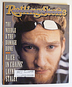 Rolling Stone Magazine February 8, 1996 Layne Staley