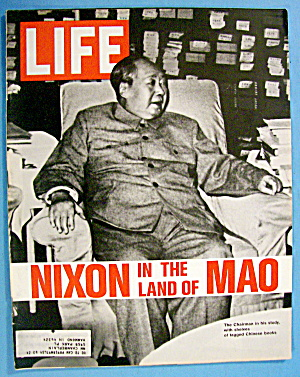 Life Magazine-march 3, 1972-nixon In The Land Of Mao
