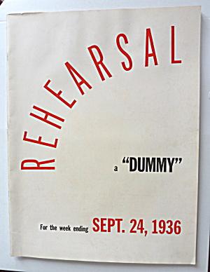 September 24, 1936 Life Magazine Rehearsal Dummy (Image1)