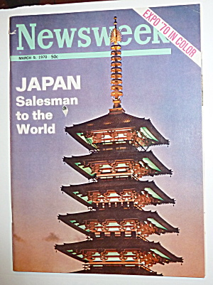 Newsweek Magazine-march 9, 1970-japan