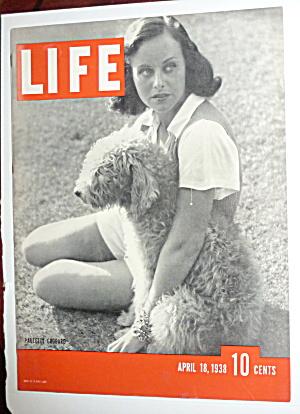 Life Magazine-April 18, 1938-Paulette Goddard (Image1)