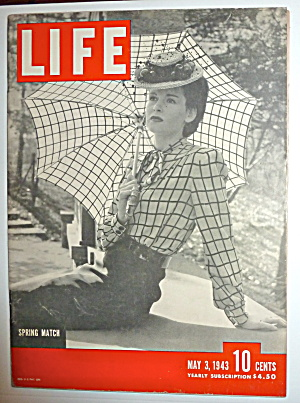 Life Magazine-May 3, 1943-Spring Match  (Image1)
