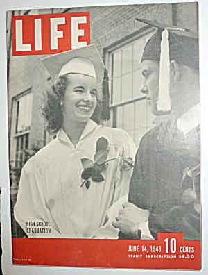 Life Magazine-June 14, 1943-High School Graduation (Image1)