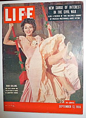 Life Magazine-September 12, 1955-Joan Collins (Image1)