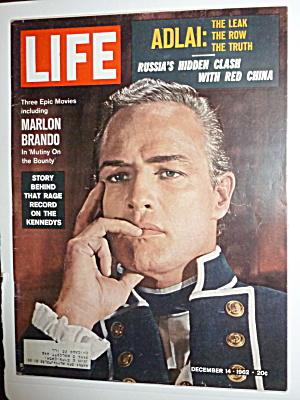 Life Magazine-December 14, 1962-Marlon Brando (Image1)