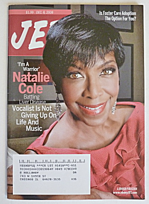 Jet Magazine December 8, 2008 Natalie Cole