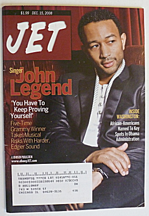 Jet Magazine December 15, 2008 John Legend