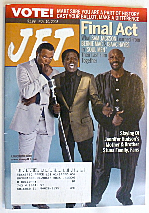 Jet Magazine November 10, 2008 Jackson, Mac & Hayes