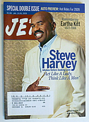 Jet Magazine January 19-26, 2009 Steve Harvey
