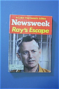 Newsweek Magazine - June 20, 1977 - Ray's Escape