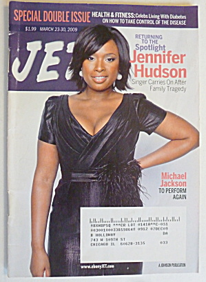 Jet Magazine March 23-30, 2009 Jennifer Hudson