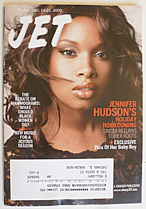 Jet Magazine December 14-21, 2009 Jennifer Hudson