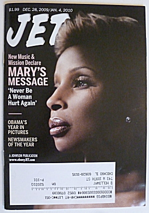 Jet Magazine December 28, 2009-january 4, 2010 Blige