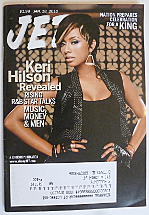 Jet Magazine January 18, 2010 Keri Hilson