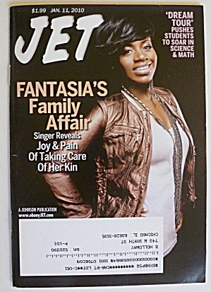 Jet Magazine January 11, 2010 Fantasia's Family Affair