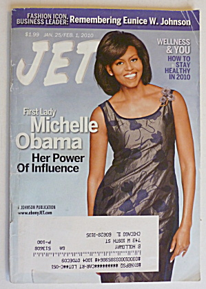 Jet Magazine January 25-february 1, 2010 Michelle Obama