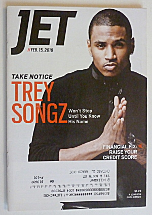 Jet Magazine February 15, 2010 Trey Songz