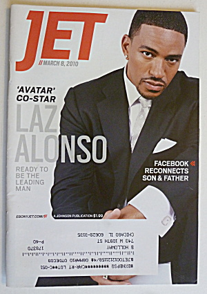 Jet Magazine March 8, 2010 Laz Alonso