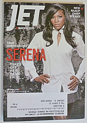 Jet Magazine March 15, 2010 Serena Williams
