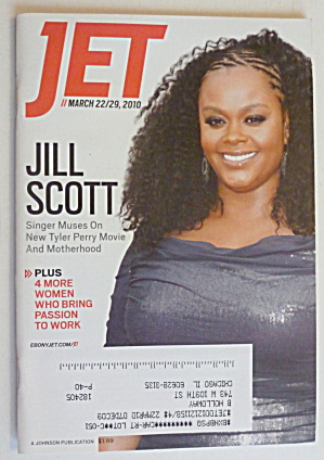 Jet Magazine March 22-29, 2010 Jill Scott
