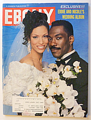 Ebony Magazine May 1993 Eddie Murphy & Bride Nicole