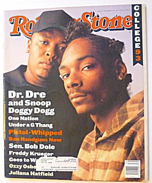 Rolling Stone Magazine September 30, 1993 Dr. Dre  (Image1)