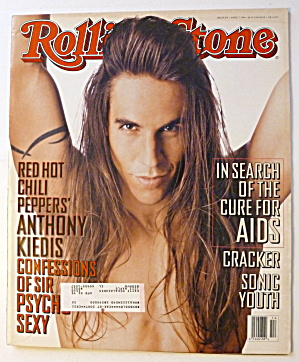 Rolling Stone Magazine April 7, 1994 Anthony Kiedis