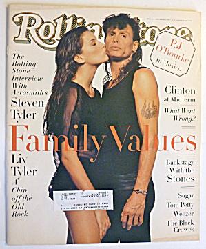 Rolling Stone Magazine November 3 1994 Steven Tyler  (Image1)