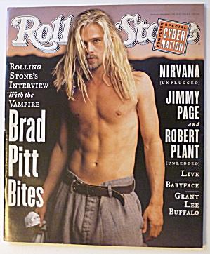 Rolling Stone Magazine December 1, 1994 Brad Pitt (Image1)
