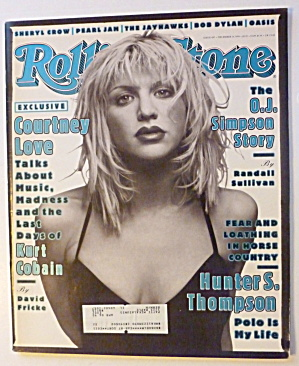 Rolling Stone Magazine December 15, 1994 Courtney Love  (Image1)