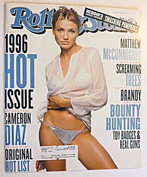Rolling Stone Magazine August 22, 1996 Cameron Diaz (Image1)