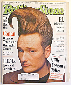 Rolling Stone Magazine September 19, 1996 Conan