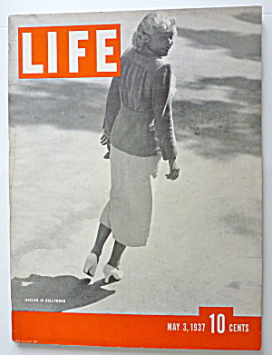 Life Magazine May 3, 1937 Harlow In Hollywood (Image1)