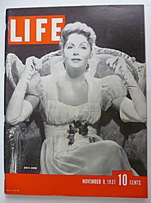 Life Magazine November 8, 1937 Greta Garbo (Image1)
