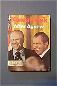 Newsweek Magazine - October 22, 1973 - After Agnew