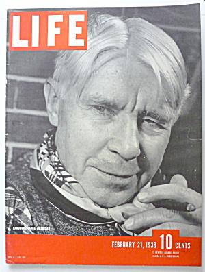 Life Magazine February 21, 1938 Sandburg Sings American (Image1)